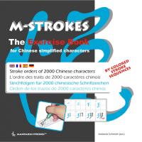 Strichfolgen für 2000 chinesische Schriftzeichen